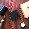 Кошелек БрадВей кожаный чёрный (281007)