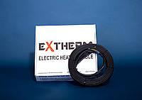 Extherm ETС ECO-20-1400 двухжильный кабель, алюминиевый экран (7,0-8,8м2)
