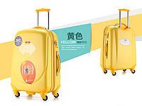 Набор из 3 жёлтых чемоданов Ambassador Classic , фото 1