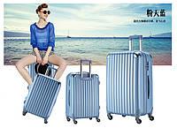 Комплект из 3 небесно голубых чемоданов Ambassador® Scallop
