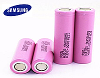 Аккумулятор Samsung ICR18650-26F M 2600 mAh, АКБ, батарея типа Li-Ion для вейпов, электронных сигарет, фонарей