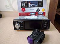 Автомагнитола Пионер 4019 +пульт на руль блютуз блютус BT экран 4 дюйма  mp4 mp5 камера 1 дин din магнітола
