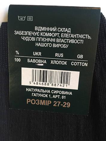 Носки мужские 41-45 Житомир Хлопок, фото 2