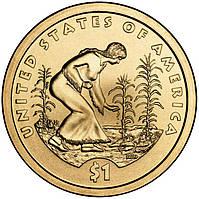 США 1 доллар 2009, Сакагавея Индианка