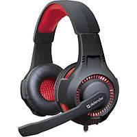 Навушники DEFENDER Warhead G-450 Black/Red