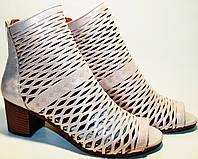 Женские босоножки на среднем каблуке - летние ботильоны Rifellini Rovigo, фото 1