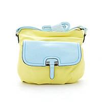 Женская сумка-клатч L. Pigeon KL Q6284 yellow (желтая)