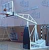 Стойка баскетбольная мобильная складная вынос 1,25 м