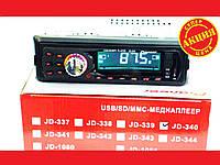 Автомагнитола Pioneer JD-340 ISO Usb+Sd+Fm+Aux+ пульт (4x50W), фото 1
