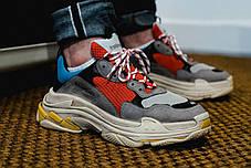 Жіночі кросівки Balenciaga Triple S Colorways 512175 W09O2 4365, Баленсіага Тріпл З, фото 3
