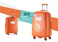 Набор из 3 оранжевых чемоданов Ambassador Classic_, фото 1