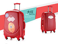 Набор из 3 красных чемоданов Ambassador Classic, фото 1
