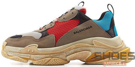 Мужские кроссовки Balenciaga Triple S Colorways 512175 W09O2 4365, Баленсиага Трипл С, фото 2