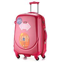 Большой малиновый чемодан Ambassador Classic, фото 1