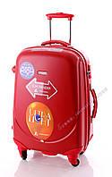 Средний красный чемодан Ambassador Classic, фото 1