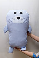 Подушка игрушка Морской котик.