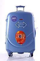 Средний голубой чемодан Ambassador Classic, фото 1