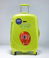 Средний салатовый чемодан Ambassador Classic, фото 1