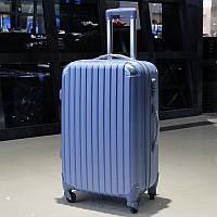 Средний голубой чемодан Ambassador® Scallop, фото 1