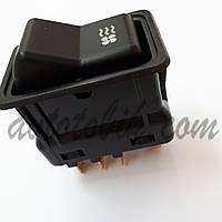 Клавиша включения вентилятора отопителя ГАЗ 3110, ПАЗ (с подсветкой)