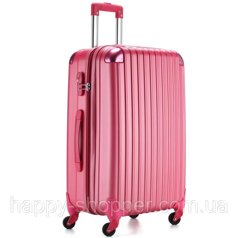 Средний малиновый чемодан Ambassador® Scallop_