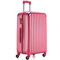 Средний малиновый чемодан Ambassador® Scallop_, фото 1
