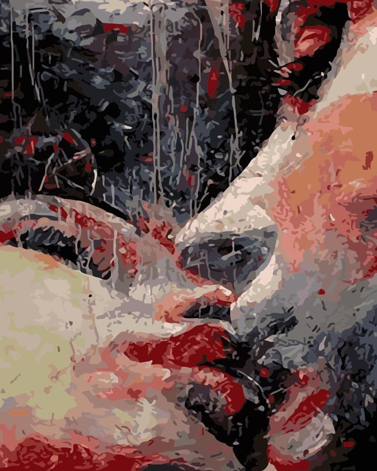 Рисование по номерам Страстный поцелуй ArtStory AS0188 40 х 50 см
