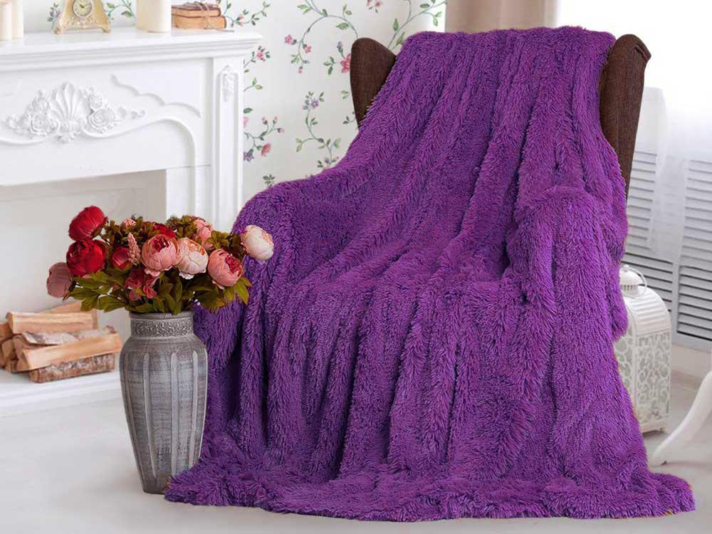 """Покривало """"Ведмедик фіолетовий"""""""