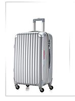 Большой серый чемодан Ambassador® Scallop, фото 1