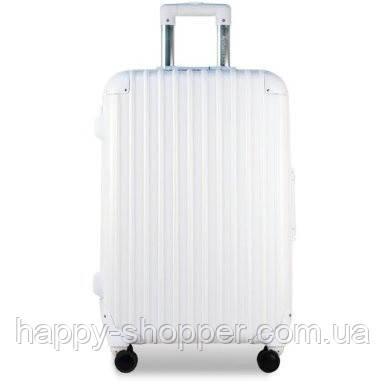 Малый белый чемодан Ambassador Hardcase