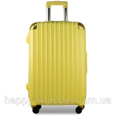 Малый жёлтый чемодан Ambassador Hardcase