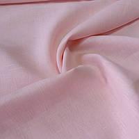 Лён розовый, ширина 150 см