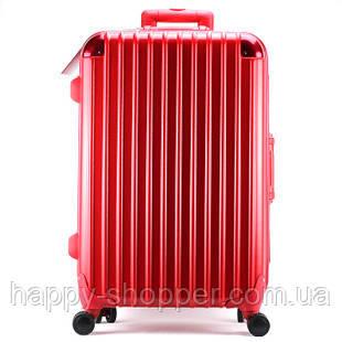 Средний красный чемодан Ambassador Hardcase
