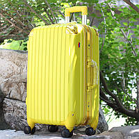 Средний жёлтый чемодан Ambassador Hardcase, фото 1
