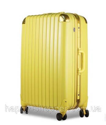 Большой жёлтый чемодан Ambassador Hardcase