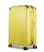 Большой жёлтый чемодан Ambassador Hardcase, фото 1