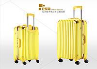 Набор из 3 жёлтых чемоданов Ambassador Hardcase, фото 1