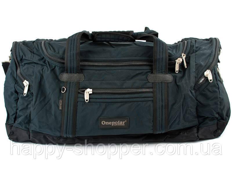 Синяя сумка 60 л Onepolar А 808