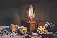 Светильник Эдисона 3/ Ретро настольная лампа в стиле Лофт