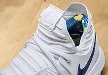 Мужские кроссовки Nike Zoom Kd10 Ep White Game Royal-University Gold 897816-101,  Найк Зум, фото 2