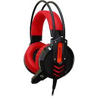 Навушники DEFENDER Redragon Chronos Red/Black