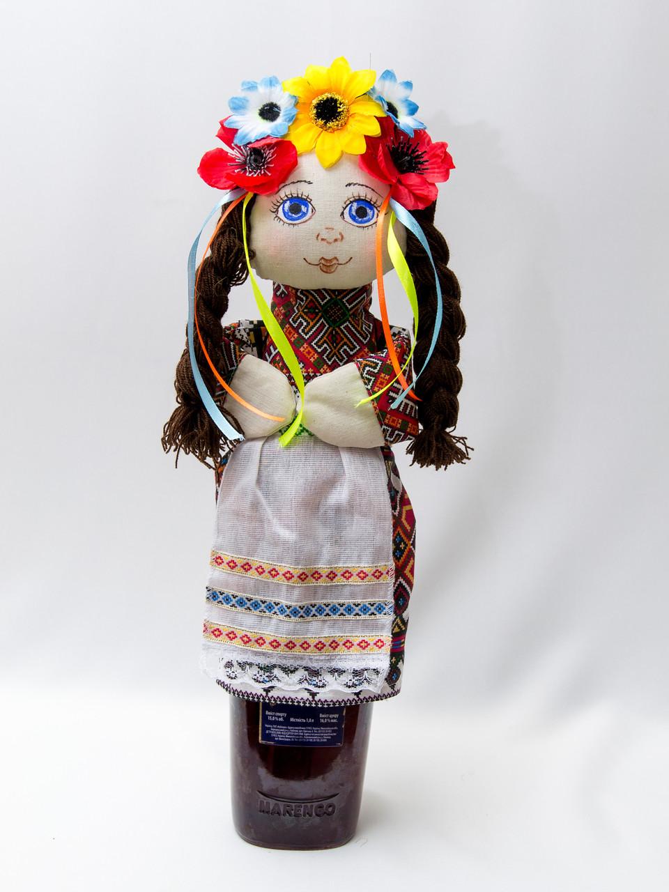 Чехол на бутылку Украинка