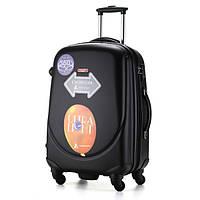 Средний чёрный чемодан Ambassador Classic, фото 1