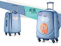 Комплект из 3 голубых чемоданов Ambassador Classic, фото 1