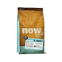 NOW FRESH™ Puppy Large Breed Recipe Grain Free Беззерновой корм для щенков крупных пород с индейкой, уткой и лососем (11,34 кг)