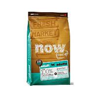 NOW FRESH™ Adult Large Breed Recipe Grain Free Беззерновой корм для взрослых собак крупных пород с индейкой, уткой и лососем (11,34 кг)