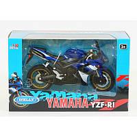 "WELLY   Мет. мотоцикл ""Yamaha 2008 YZF-R1""  1:10"