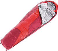 Спальный мешок Deuter Orbit 0 Fire/Cranberry (5520) left