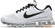 Мужские кроссовки Nike Air Max 2017 (White/Black/Pure Platinum)