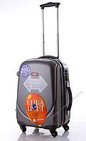 Малый графитовый чемодан Ambassador Classic, фото 1